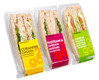 Woolworths rPET packaging