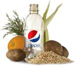 PepsiCo unveils world's first 100% renewable food-based PET bottle
