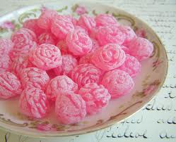 Rose candy