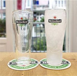 Heineken debuts 'double-walled' glass that cools beer within minutes