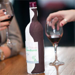 Paper wine bottle