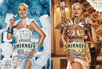 How do you drink your vodka? Fluffed or whipped?