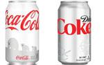 Coke White Can