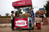 Coke goes big in India