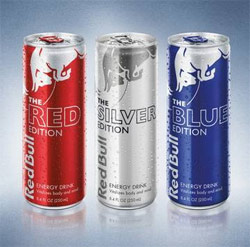 Red Bull targets taste with three new flavours