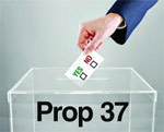 Prop 37 defeated