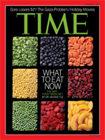 Time Cover - What to eat now