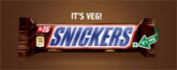 Mars introduces 'Vegetarian SNICKERS'