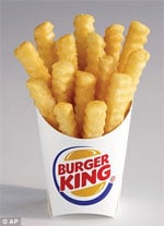 Burger King debuts lower-fat french fries