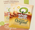 Whole Earth Peanut Butter sachets