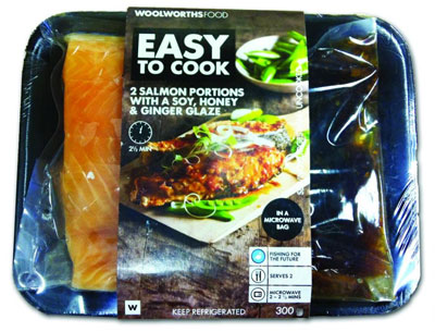 Woolworths ovenable bags