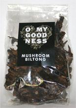 Mushroom biltong