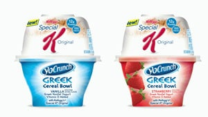 US: Kellogg responds to the rise of yoghurt: If you can't beat 'em, join 'em