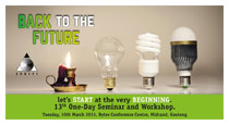 SAAFFI's 2015 seminar will 'go back to the future'