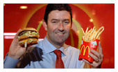 The man who's supposed to turn McDonald's around