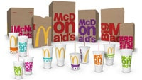 McDonald's revamps brand with bold, colourful packaging
