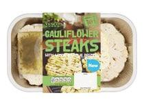 UK: Tesco introduces cauli and mushroom steaks