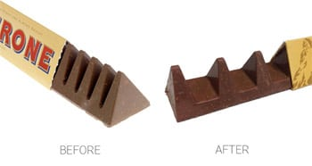 Toblerone changes