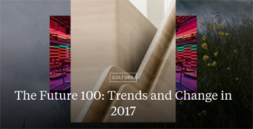 JWT 100 Trends 2017