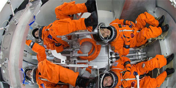Orion capsule L