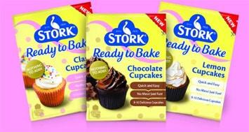 Stork cupcakes L