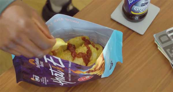 UK snack producer launches microwavable crisps concept