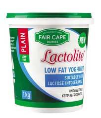 Lactolite yoghurt