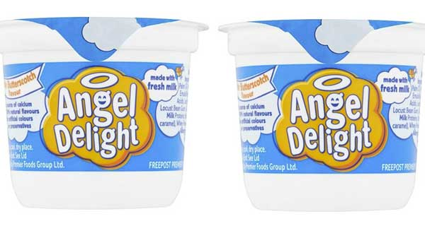 Good grief! Angel Delight's on the fast track