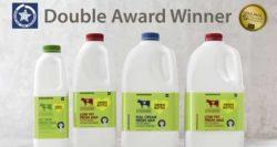 Honours for Dairypack's green milk bottle
