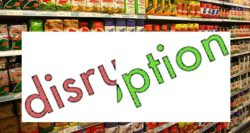 What is food disruption and why is it important?
