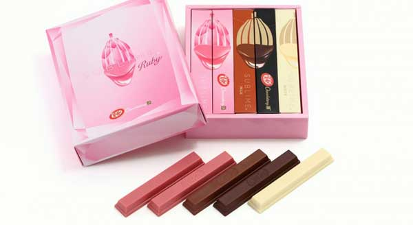 KITKAT first brand to launch in Ruby chocolate