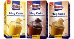 Moir's new cake in a mug