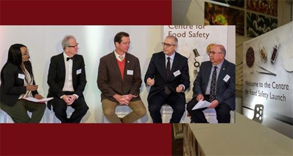 More on SA's first Centre for Food Safety