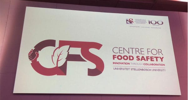 Big step up for food safety in SA: launch of Centre For Food Safety