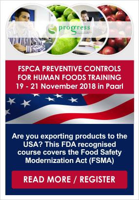 Progress Excellence FSPCA Training