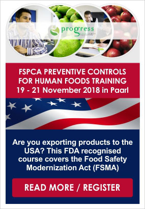 Progress Excellence FSPCA Training