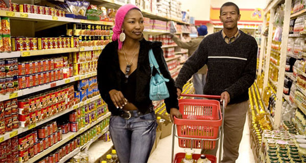 South Africans are spending less on their weekly shopping trip