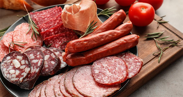 Compulsory specifications for processed meat products