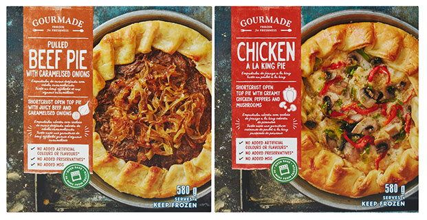 Checkers's new Gourmade frozen meals