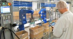 Robotics stride ahead in food packaging automation
