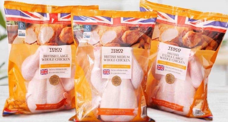 Tesco Chicken Packaging